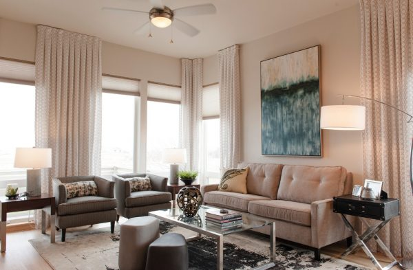 living room decorating ideas and designs Remodels Photos TruDesign Lafayette Colorado United States contemporary-living-room