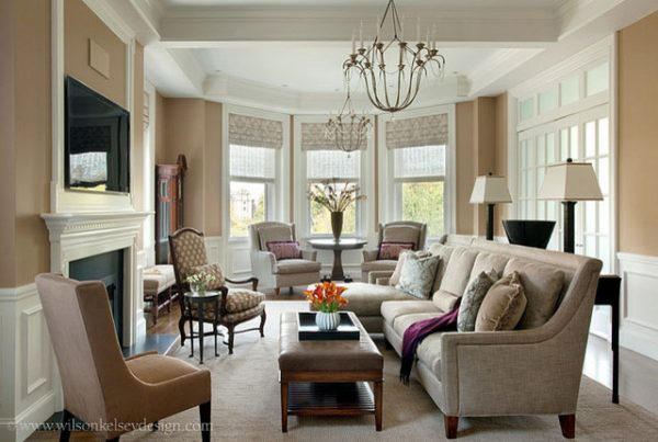 living room decorating ideas and designs Remodels Photos Wilson Kelsey Design Salem Massachusetts United States traditional-living-room