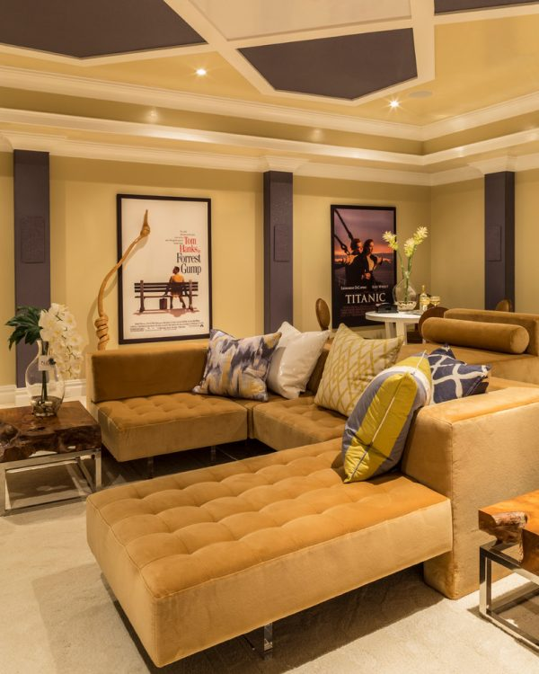 Tips For Home Theater Room Design Ideas: Living Room Decorating And Designs By DiSalvo Interiors