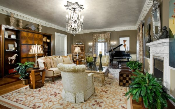 living room decorating ideas and designs Remodels Photos diSalvo Interiors Carle Place New York United States eclectic-living-room