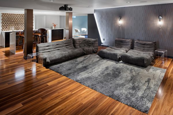 living room decorating ideas and designs Remodels Photos iD8 Design Studio Boston Massachusetts United States  contemporary-basement-002