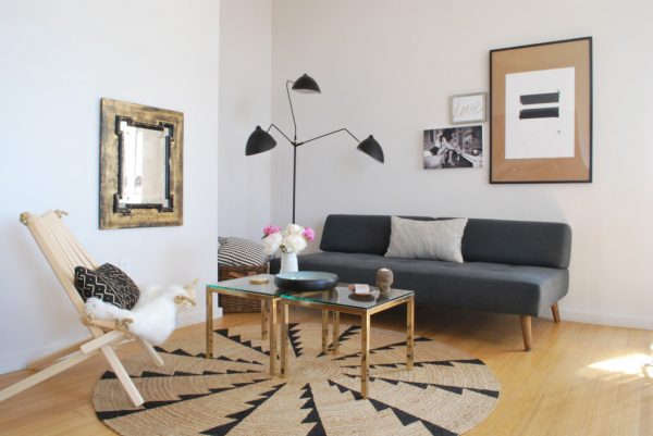 living room decorating ideas and designs Remodels Photos sheep + stone Brooklyn New York United States scandinavian-living-room