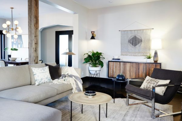 living room decorating ideas and designs Remodels Photos sheep + stone Brooklyn New York United States transitional