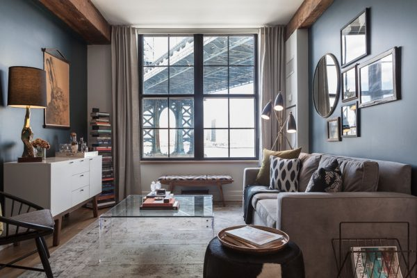 living room decorating ideas and designs Remodels Photos sheep + stone Brooklyn New York United States transitional-living-room