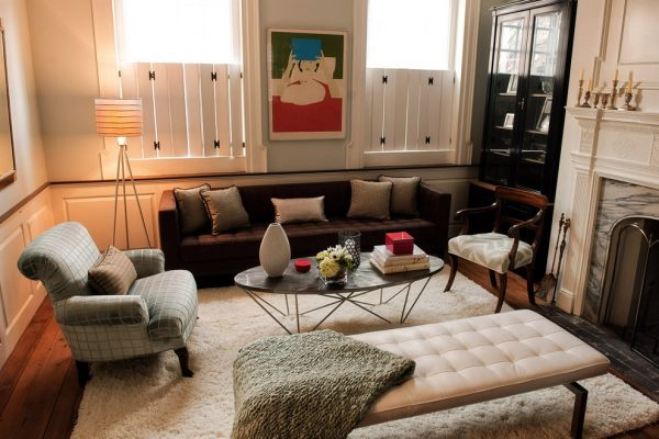 living room decorating ideas designs Remodels Photos Michele Plachter Design Philadelphia Pennsylvania United States eclectic-living-room-001