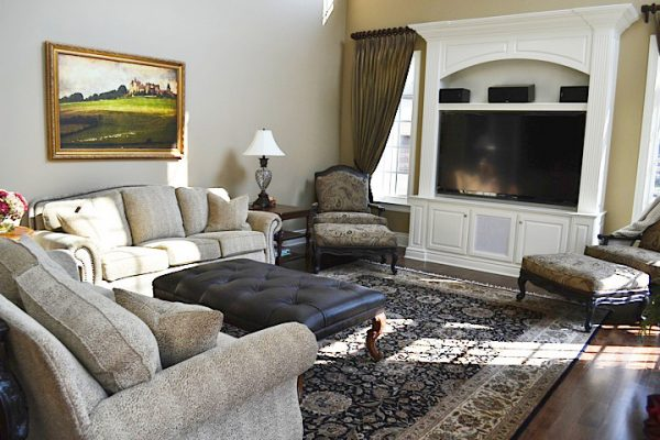 living room decorating ideas designs Remodels Photos  Teri Waugh, Ethan Allen, McCandless, PA Pittsburgh Pennsylvania traditional-living-room