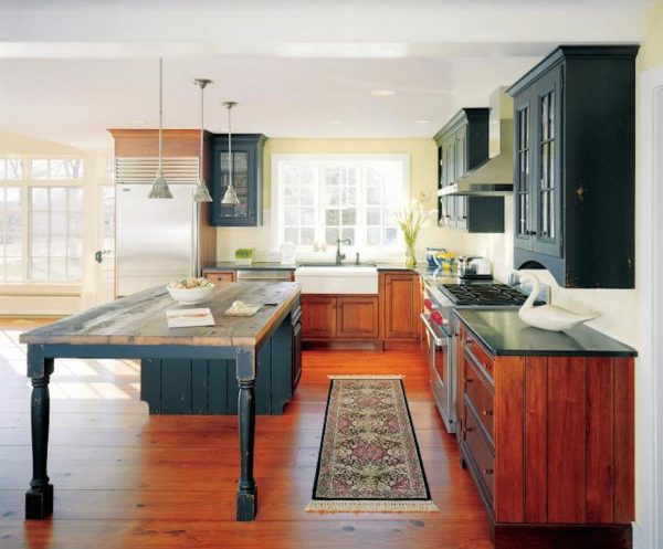 kitchen decorating ideas and designs Remodels Photos William Draper Cabinetmaker Buckingham Township Pennsylvania United States farmhouse-kitchen