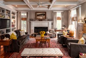 Living Room Decorating and Designs by Bespoke Fine Interiors - Aiken, South Carolina, United States
