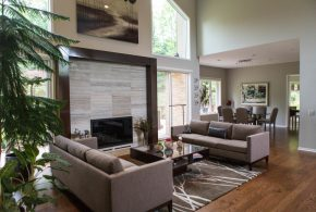 Living Room Decorating and Designs by Colorworks Studio - Troy, Michigan, United States