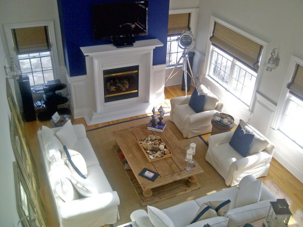 living room decorating ideas and designs Remodels Photos Design ConceptsInteriors, LLC Cortlandt Manor New York United States beach-style-living-room