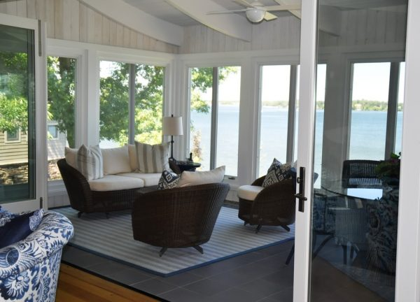 living room decorating ideas and designs Remodels Photos Gunkelmans Interior Design Deephaven Minnesota United States contemporary-porch