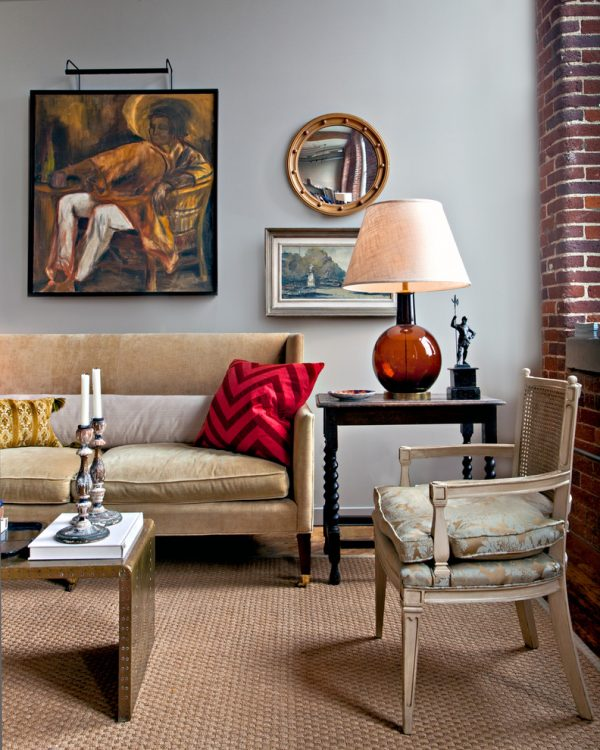living room decorating ideas and designs Remodels Photos Jason Arnold Interiors Nashville Tennessee United States eclectic-living-room-001