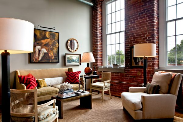 living room decorating ideas and designs Remodels Photos Jason Arnold Interiors Nashville Tennessee United States eclectic-living-room