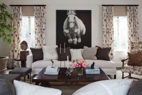 Living Room Decorating and Designs by Martin Kobus Home - Sausalito, California, United States
