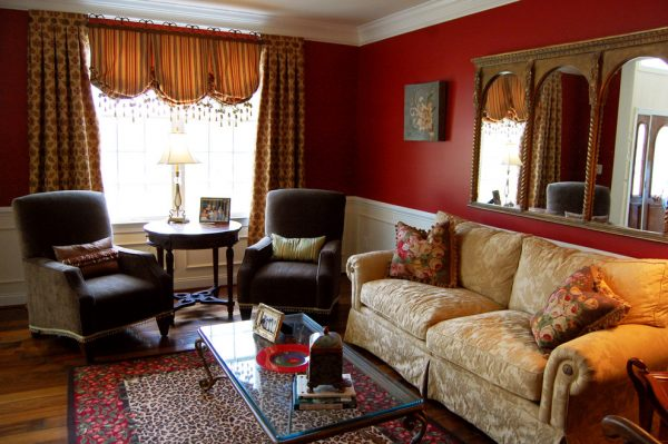 living room decorating ideas and designs Remodels Photos The Decorating Therapist Columbia Maryland United States traditional-living-room