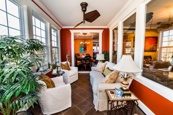 living room decorating ideas and designs Remodels Photos The Decorating TherapistColumbia Maryland United States transitional-sunroom
