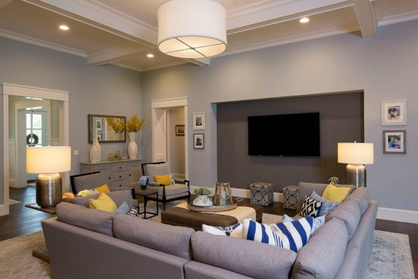 living room decorating ideas and designs Remodels Photos Tonya Hopkins Interior Design Portland Oregon United States transitional-family-room-001