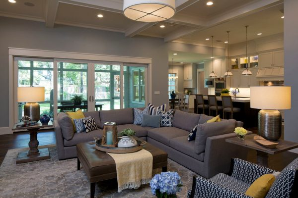 living room decorating ideas and designs Remodels Photos Tonya Hopkins Interior Design Portland Oregon United States transitional-family-room