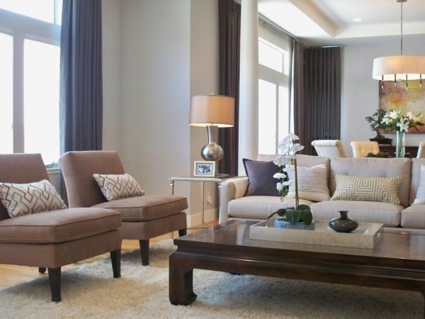 living room decorating ideas and designs Remodels Photos Yoko Oda Interior Design Burlingame California United States contemporary-living-room