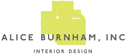 Interior Designer & Decorator : Alice Burnham, Inc.