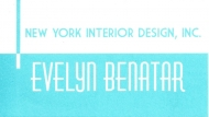 Interior Designer & Decorator : Evelyn Benatar, New York Interior Design