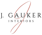 Interior Designer & Decorator : J. Gauker Interiors LLC