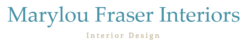 Interior Designer & Decorator : Marylou Fraser Interiors