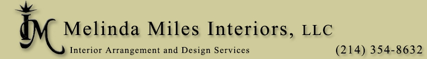 Interior Designer & Decorator : Melinda Miles Interiors, LLC