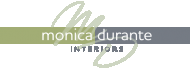 Interior Designer & Decorator : Monica Durante Interiors, Inc