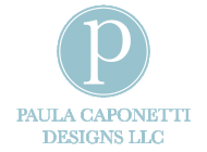 Interior Designer & Decorator : Paula Caponetti Designs LLC