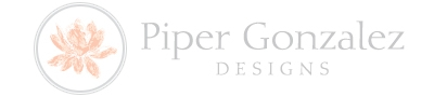 Interior Designer & Decorator : Piper Gonzalez Designs