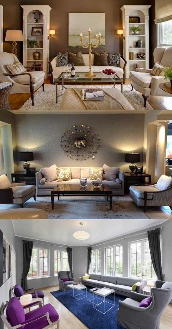 Living Room Painting Design: Interior Paint Ideas For The Living Room
