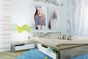Interior Design Ideas for Girls' Bedroom