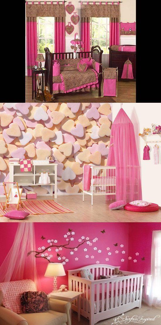 Baby Girls' Nursery Decorating Ideas