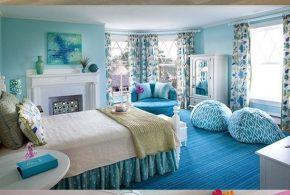 Colorful Girls' Bedroom Interior Design Ideas