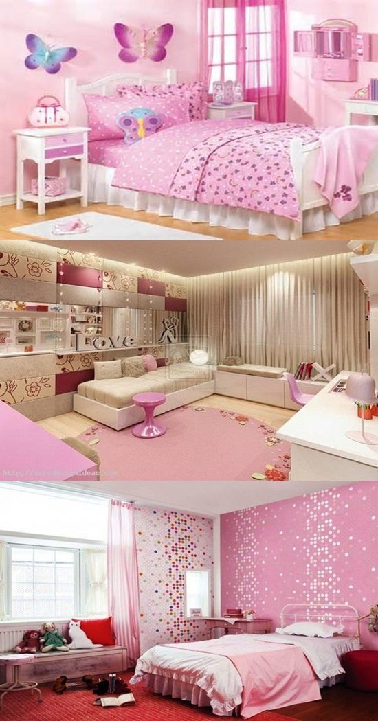 Teenage Girls' Bedroom Decorating Ideas