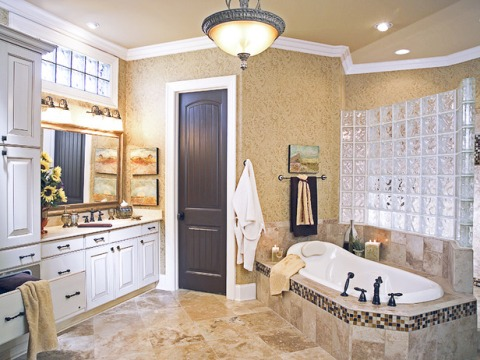 home decorating ideas bathroom