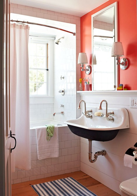 orange bathroom ideas orange bathroom decorating ideas interior design 818