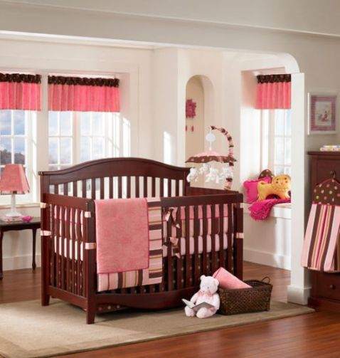 pink and brown bedroom decorating ideas pink and brown nursery and bedroom decorating ideas 20760