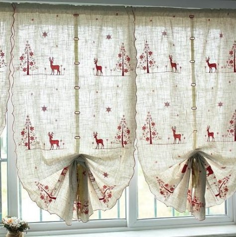 Cafe curtains for bedroom