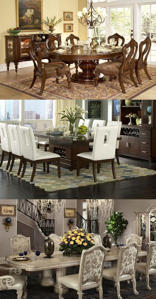 How to decorate dining room tables - How to decorate a dining room ...