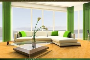 Interior Design Living Room Green