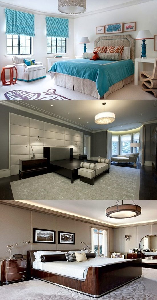 Interior bedroom colors – color and comfort