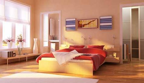 Interior bedroom colors - color and comfort