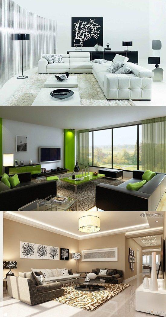 Living Room Interior Design – Family Living