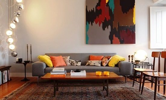 Modern vintage interior design for Modern vintage interior design