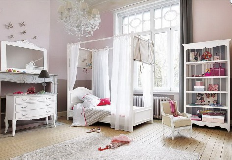 Romantic bedroom curtains 1