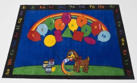 Educational Rugs for Kids Room