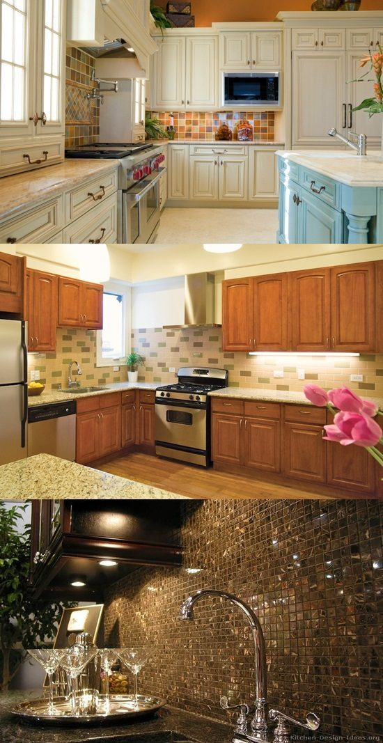 Kitchen Backsplash Tiles, Colors Ideas