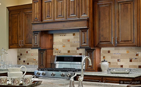 Kitchen Backsplash tiles colors Ideas 16